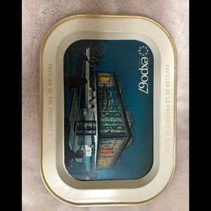 Antique Souvenir tray expo 67